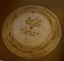 <center><b>Музыкант из Англии записал пластинку на лепешке</center></b>