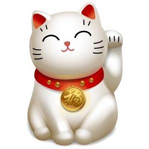 <center><b>В японском магазине работает кошка счастья </center></b>