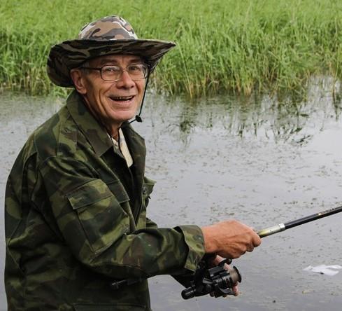 Рыбалка на пресс-конференции (видео)