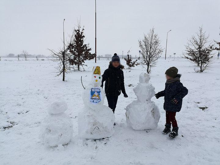 Жительницу Белоруссии оштрафовали за снеговика