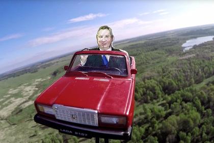 Дмитрия Рогозина отправили в космос на «Семёрке»