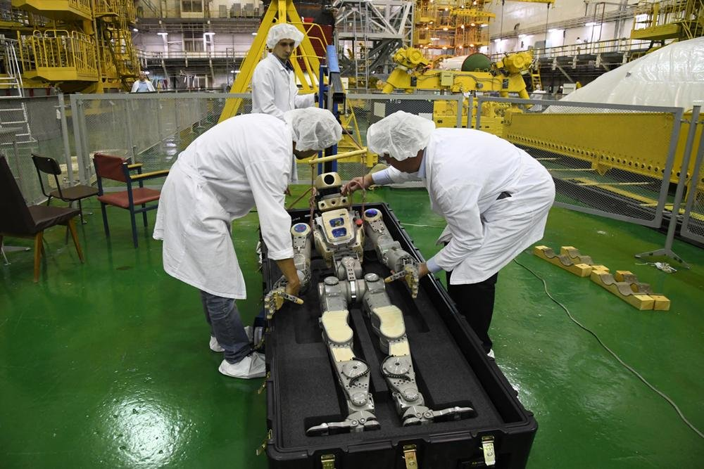 Роботу Фёдору ради полета на МКС заменят ноги на руки
