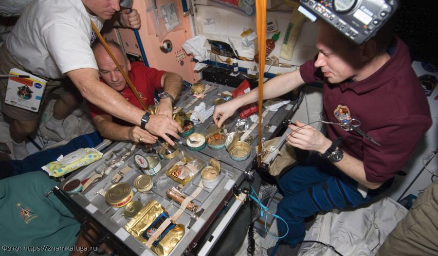 Американские космонавты заказали на МКС русскую еду
