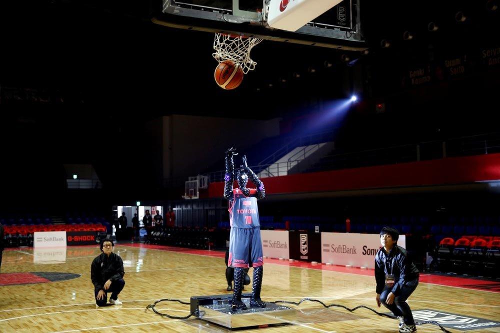 Киборг баскетболист попал в книгу рекордов Гиннесса