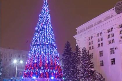 В Кемерово установили елку за 18 миллионов рублей