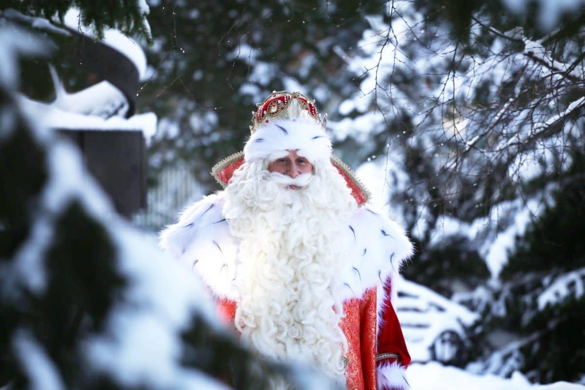 Российский Дед Мороз выступил против мусора