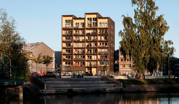 Шведы построили самое высокое деревянное здание в стране