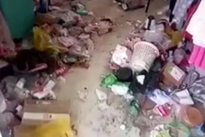 <center><b>В Китае нашли самую грязную комнату</center></b>