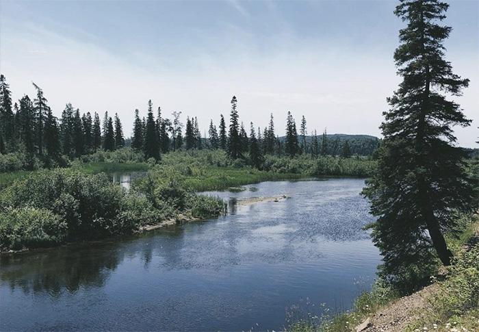 Река в Канаде стала личностью