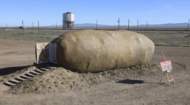 Среди американцев разыграют проживание в гигантской картошке